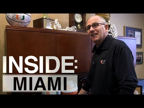 Inside: Miami | Jim Larranaga Tours Campus and Office - YouTube