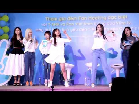 Hoàng Yến Chibi nhảy cùng Jiyeon (T-ara)