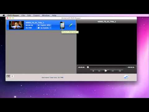 MacTheRipper Mountain Lion Alternative to Rip DVD Movies