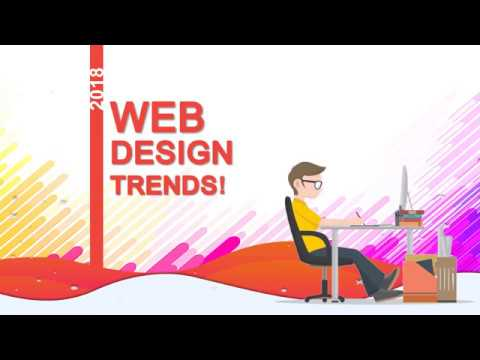 Web Design trends for 2018 and upcoming years!