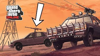 GTA 5 Online Hipsters 2 DLC: New Weaponized Vehicles, Vinewood Classic Cars - Teaser my video