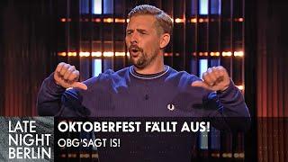 Alles abgesagt: Oktoberfest fällt aus!   Stand Up   Late Night Berlin   ProSieben
