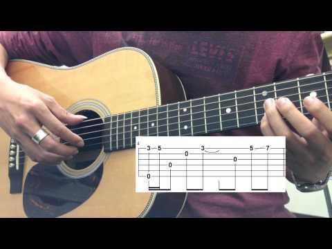 [吉他教學] 方炯鑌 - 遺憾 (前奏、尾奏)