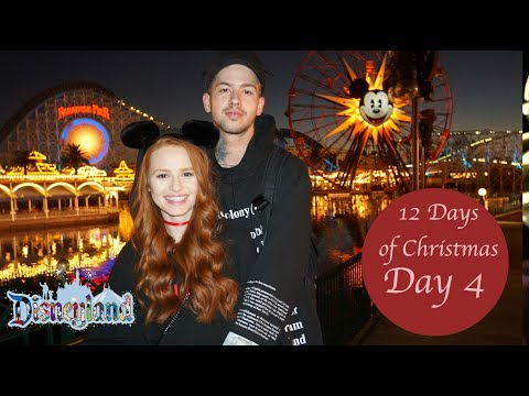 GOING TO DISNEYLAND FOR MY FIRST TIME   Madelaine Petsch