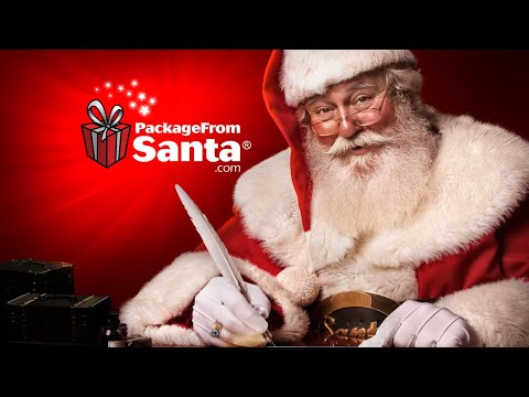 Order a Package from Santa and get the Letter, Call and Nice List Guide Free