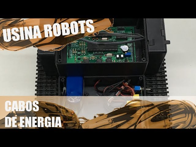 CABOS DE ENERGIA | Usina Robots US-2 #095