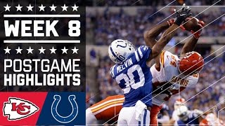 Chiefs vs. Colts | NFL Week 8 Game Highlights