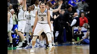 Watch all 13 three-pointers from Wofford's First Round NCAA tournament victory