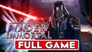 STAR WARS VADER IMMORTAL Gameplay Walkthrough Part 1 FULL GAME [1080p HD PC VR] - No Commentary