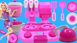 Cooking Toys For Kids - Toy Kitchen Set Cooking Playset For Children by Haus Toys
