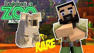 I'm Building A Zoo In Minecraft Again! - Super Rare! - EP04