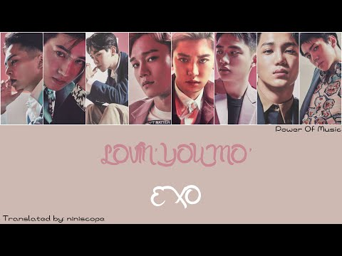 EXO (엑소) - Lovin' You Mo' Lyrics (KAN/ROM/ENG)