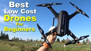 The BEST Low Cost DRONES for BEGINNERS - My Recommendations