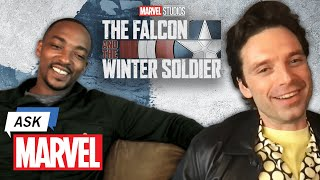 Marvel Studio's The Falcon and The Winter Soldier - Anthony Mackie & Sebastian Stan | Ask Marvel