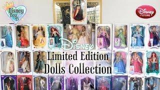 Disney Limited Edition Dolls Collection Tour - Princess, Villains, Frozen