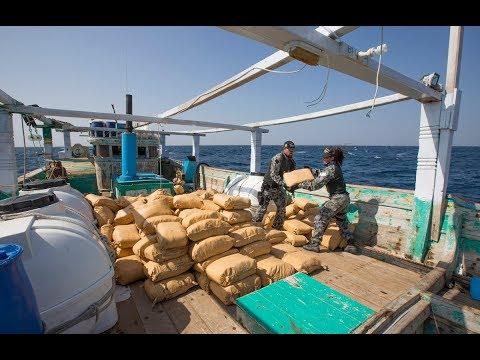 HMAS Warramunga drug interdiction