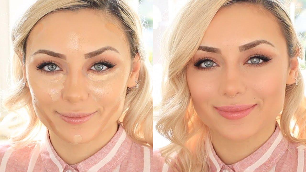 Rundes Gesicht schlank schminken - diese Tipps helfen!