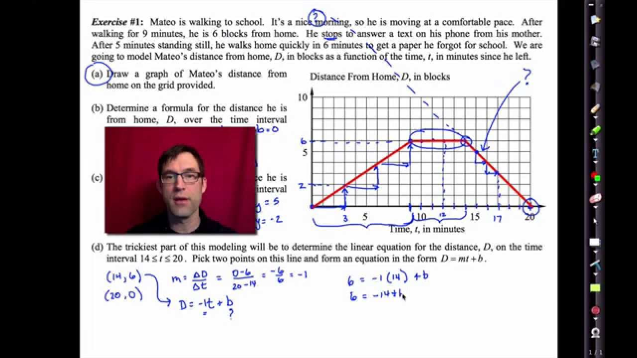 Piecewise linear functions common core algebra 2 homework key
