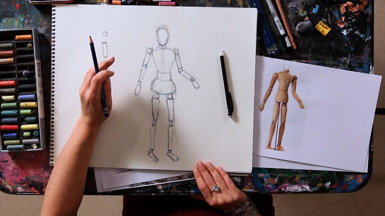 drawing draw tutorials figure circle teach learn