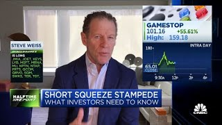 GameStop situation is the 'craziest I've ever seen': Steve Weiss