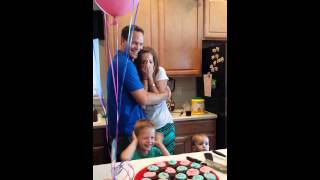 Gender reveal! 5 boys, what will #6 be?!
