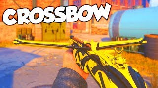 *NEW* CROSSBOW DLC WEAPON GAMEPLAY in COD WW2!!