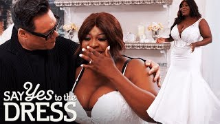 Sister Wants A Princess Gown But Bride Wants A Fitted Dress! | Say Yes To The Dress: Lancashire