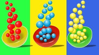 Learn colours for kids | little baby learning colors easily and fast