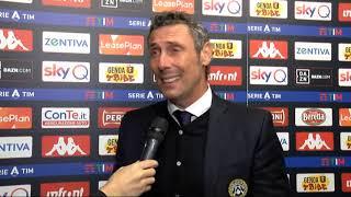 3 Novembre 2019   Genoa - Udinese 1-3   intervista Gotti post partita