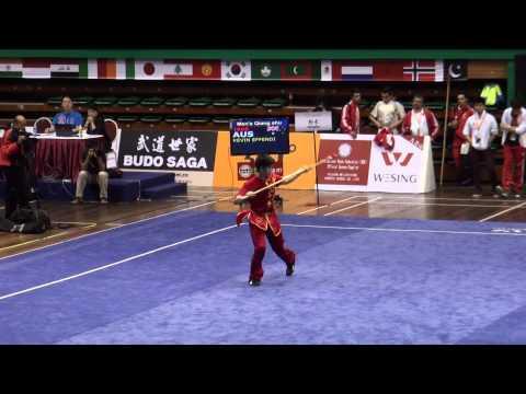 qiangshu men KEVIN EFFENDI AUS 9 10 rank 20 / qiangshu мужчин Кевин Эффенди AUS 9 10 ранг 20