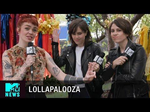 Tegan and Sara on Lorde & Female Headliners at Lollapalooza 2017   MTV News