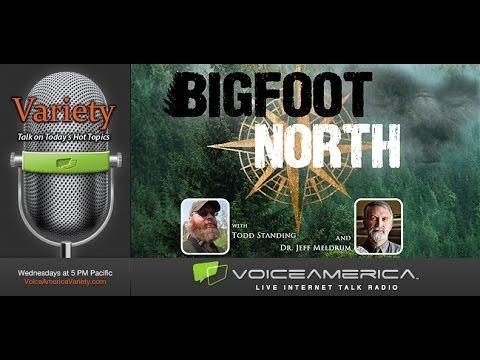 Bigfoot North Radio.  Episode 1. Jeff Meldrum & Todd Standing