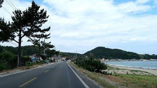 Driving on the South Korea Coastal Road | 끝내주는 동해안 드라이브
