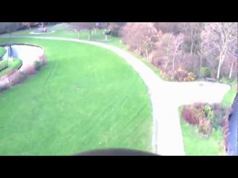 Man Flies Like a Bird using Actual Wings