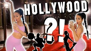 TRYING A DIFFERENT CELEBRITY WORKOUT EVERYDAY FOR A WEEK!