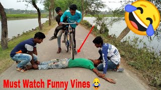 Must Watch New Funny😂😂Comedy Videos 2019 - Episode 23 - Funny Vines || HiphopBDT