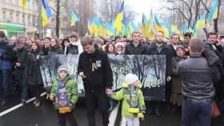 Хода пам'яті жертв Голодомору в Києві