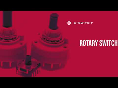 E-Switch: KC1901A Series Rotary Switches