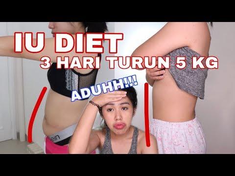 #VICOBA DIET K-POP  IU : 3 HARI TURUN 5 KG!!! PERUT KEMPES