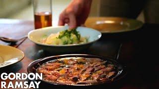 Gordon Ramsay's Mackerel Ceviche with Fennel Salad & Quinoa Salad Recipe