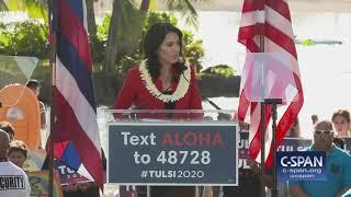 Representative Tulsi Gabbard Presidential Campaign Announcement (C-SPAN)