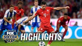 Bayern Munich vs. Hertha BSC Berlin   2019 Bundesliga Highlights