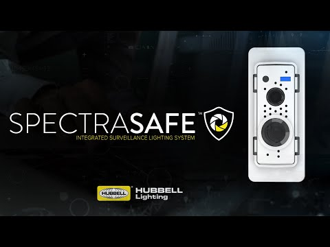 SpectraSAFE is the first scalable, cloud-based and wireless video security solution designed for commercial and industrial building applications that seamlessly integrates into a wide range of luminaires.