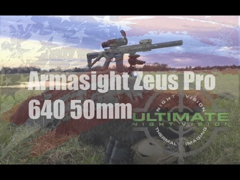Armasight Zeus Pro 640 50mm Thermal Weapon Scope   Big Boar 2