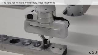 A robot manipulation framework: Learning the peg-in-hole task