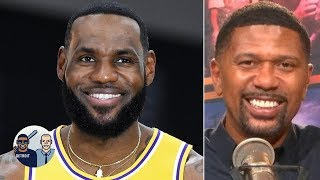Put the ball in LeBron's hands, his position is irrelevant - Jalen Rose   Jalen & Jacoby