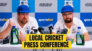 Local Cricket Press Conference