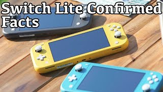 It's real! NINTENDO SWITCH LITE Confirmed! Just the FACTS.