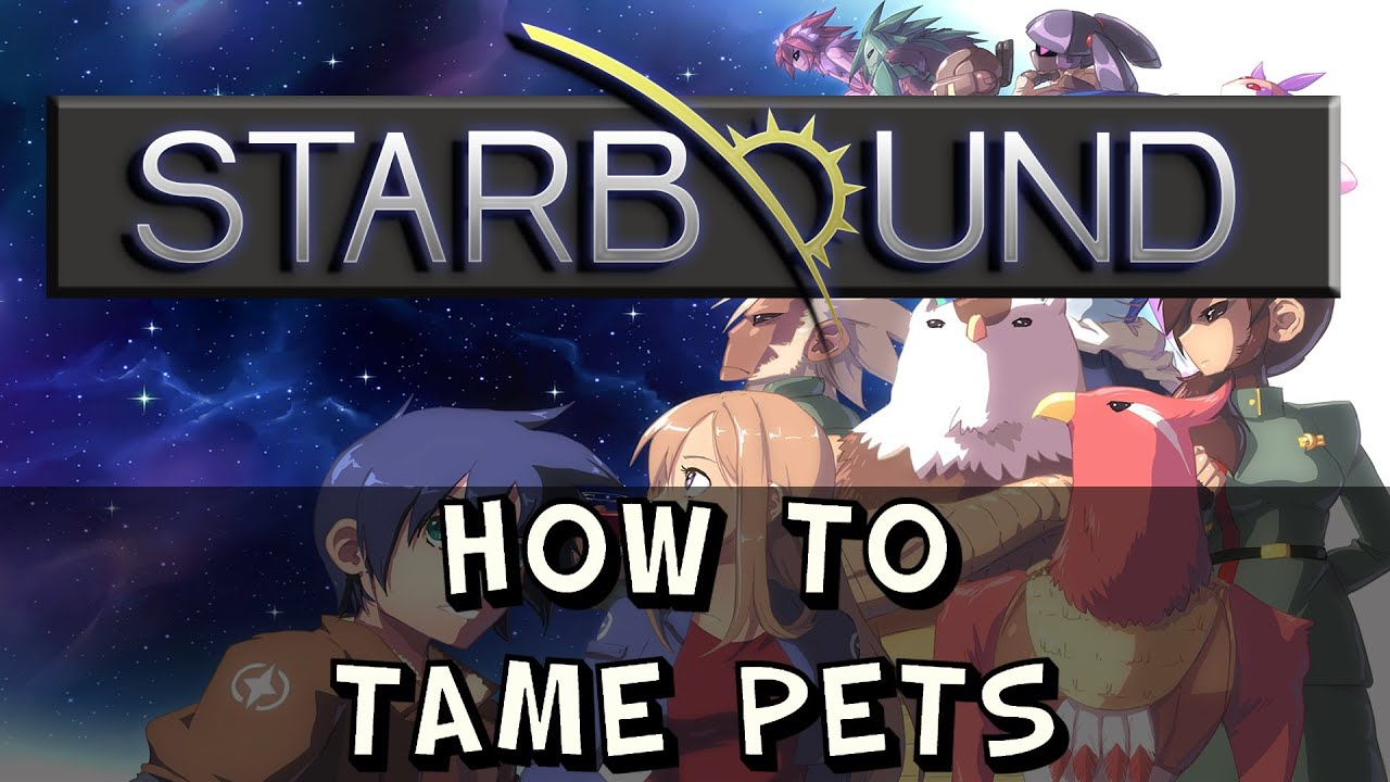 Starbound how to catch pets