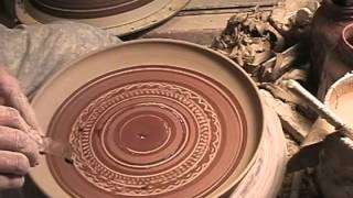 tobikanna or chattering on pottery plates by Brad Sondahl